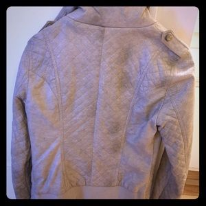 Faux leather tan GUESS jacket